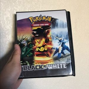 Pokemon Card Protector Book / Binder (holds 40) 💥